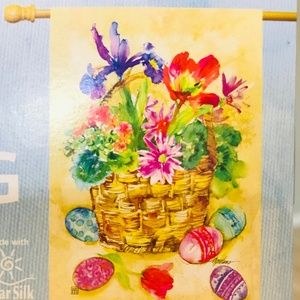 🎉🎉🆕HOST PICK Breeze Art Easter Flag🎉🎉-NWT